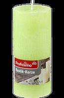 Profissimo Rustikkerze grün - Свеча декоративная зелёного цвета длина: около 160 мм, диаметры около 68 мм,1 шт