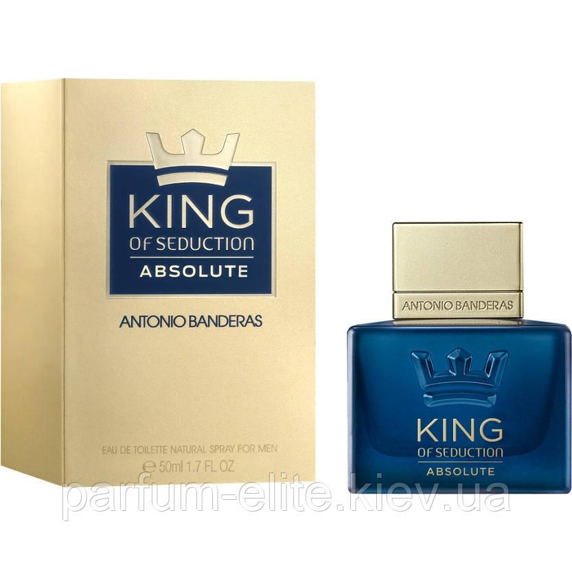 Мужская туалетная вода Antonio Banderas King of Seduction Absolute 50ml