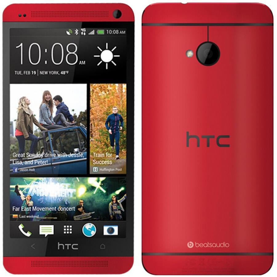 Смартфон HTC One M7 (801e) 32Gb Red