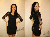 Гипюровое платье п701