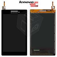 Дисплейный модуль (дисплей + сенсор) для Lenovo Tab 2 A7-20F, черный, оригинал