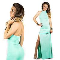 Бирюзовое платье 15548