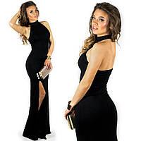 Черное платье 15548