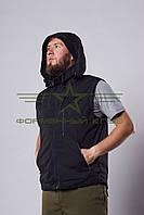 Жилет Милитари (черный) , фото 1