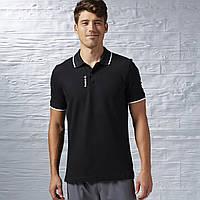 Мужская футболка-поло Reebok elements polo (Артикул: AJ3084)