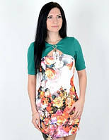 Платье имитация болеро размер М