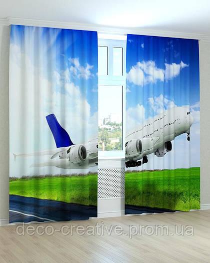 Фотошторы самолет