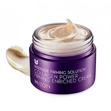 Питательный подтягивающий крем Mizon Collagen Power Firming Enriched Cream, 50 мл, фото 2