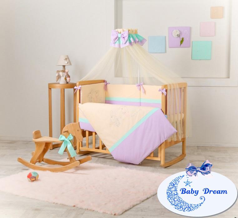 Комплект постельного белья Funny Bunny фиолет 7 пр