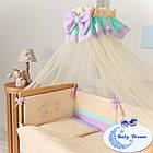 Комплект постельного белья Funny Bunny фиолет 7 пр, фото 2