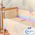 Комплект постельного белья Funny Bunny фиолет 7 пр, фото 3