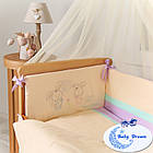 Комплект постельного белья Funny Bunny фиолет 7 пр, фото 4