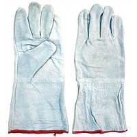 Перчатки для сварки (краги) серые
