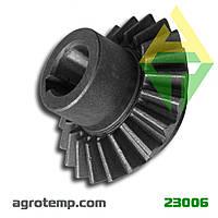 Шестерня коническая (Z-16) косилки Z-169 5036010660