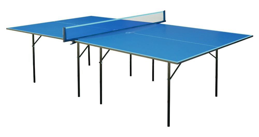 Теннисный стол для пинг понга для  помещений  GSI-sport Хобби Лайт Hobby Light Gk-1 синий