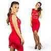 Красное платье 15554