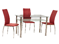 Стеклянный стол Signal Pixel 100х60