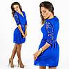 Синее платье 15547