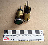 Фонарь контрольной лампы зелёный ПД20ЕД