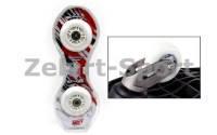 Колеса для скейтборда (2шт) RipStik светящиеся с подшипником ABEC-7-SK-4908(PU, р-р 76мм )