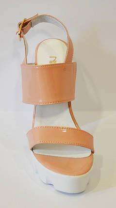 Женские босоножки на высоком каблуке Nivelle 1704, фото 2