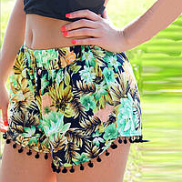 Летние шорты свободного покроя для пляжа