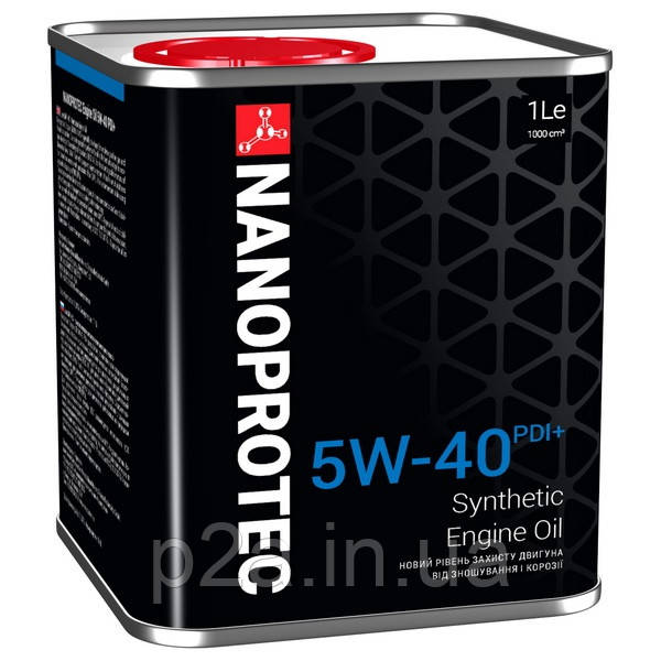 Синтетическое моторное масло NANOPROTEC  5W-40 PDI+ 1L - p2a.in.ua в Виннице