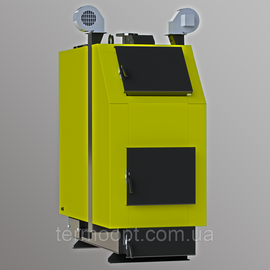 Промышленные котлы Kronas Prom 500 кВт котлы для отоплени на твердом топливе с турбиной и автоматик