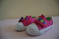 Кеды, мокасины детские на девочку TOM.M 22 р. Детская летняя обувь. Текстильная обувь