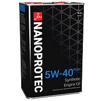 Cинтетическое моторное масло NANOPROTEC 5W-40 PDI+ 4L