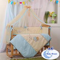 Комплект постельного белья Детские мечты 7 пр, фото 1
