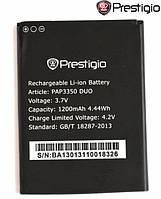 Батарея (акб, аккумулятор) для Prestigio MultiPhone 3350 / PAP3350, 1200 mAh, оригинал