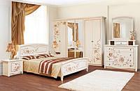 Спальня Ванесса комплект 6Д венге светлый лак Світ Меблів