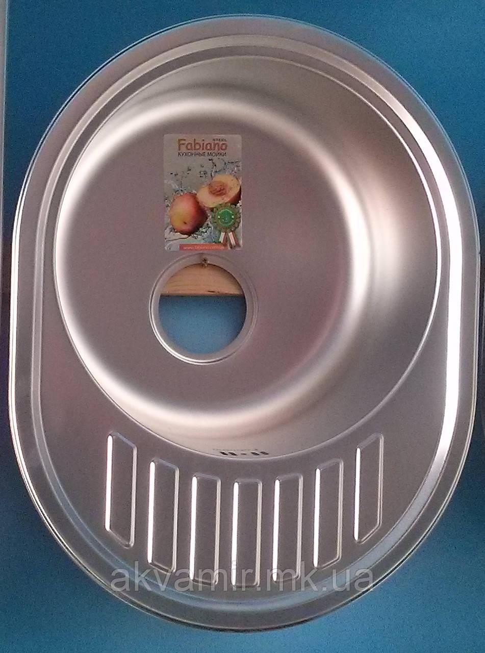 Мийка Fabiano 57x45 Microdecor нерж. сталь 0.8 мм (Туреччина)