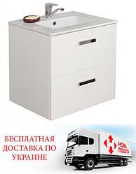 Шафка з умивальником Roca Victoria білий 60 см 855854806