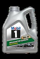Моторное масло синтетическое MOBIL 1  ADVANCED FUEL ECONOMY 0W-20 для бензиновых двигателей MB 0W20 M1