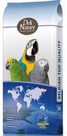 Корм для крупных попугаев с арахисом DELI NATURE 60 15 кг