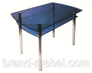 Стол стеклянный КС-4 тонированный