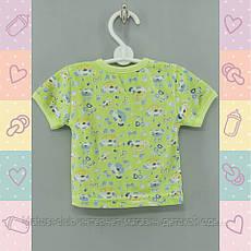 Кофточка для Мальчика, 3-8 месяцев на кнопках, новорожденным тонкий Хлопок-Кулир, В наличии 62,68,74 Рост, фото 3