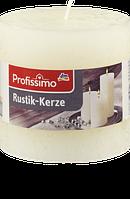 Profissimo Rustikkerze elfenbein - Свеча декоративная цвет слоновой кости длина 100 мм, диаметры 100 мм, 1 шт