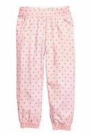 Штаны летние, алладинки H&M для девочки на р.110, 116, 122, 128