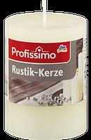 Profissimo Rustikkerze elfenbein - Свеча декоративная цвет слоновой кости длина 80 мм, диаметры 58 мм, 1 шт