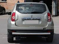 Задняя защита AK 002 Dacia Duster 2010+