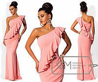 Вечернее платье на одно плечо 353 (539)