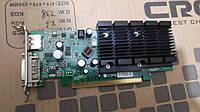 Б/у Nvidia GeForce 405 DP - 512MB PCIe  - S26361-D2422-V405 (низкопрофильная)