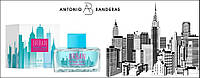 Женская туалетная вода Antonio Banderas Urban Blue Seduction For Women 100ml