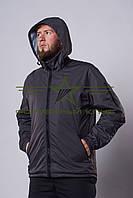 Куртка мембранная сетка    (нейлон серый) , фото 1