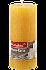 Profissimo Rustikkerze orange -  Свеча декоративная цвет оранжевый длина 160 мм, диаметры 68 мм, 1 шт
