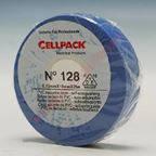 Изоляционная ПВХ лента Cellpack №128. по 10м синяя