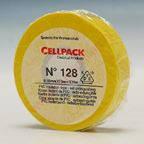 Изоляционная ПВХ лента Cellpack №128. по 10м желтая